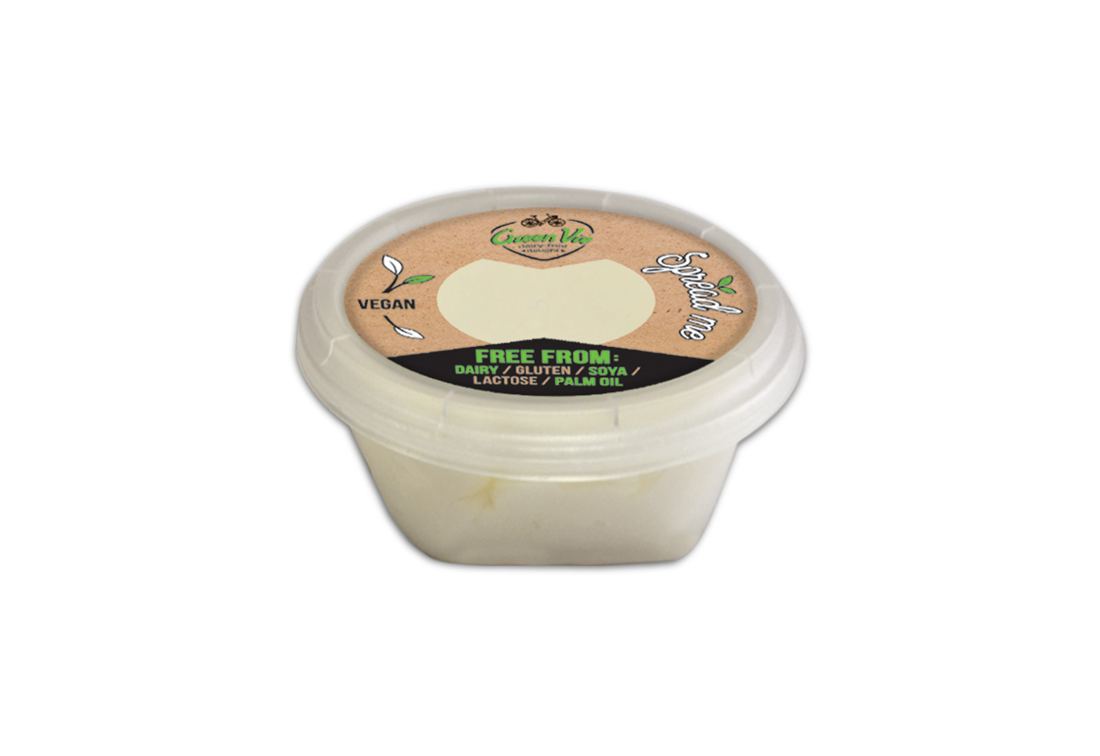 Vegan Dairy-Free GreenVie spread 250g