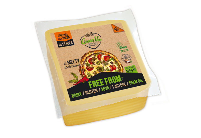 Vegan Dairy-Free Special For Pizza Cheese Slices 500g Foodservice